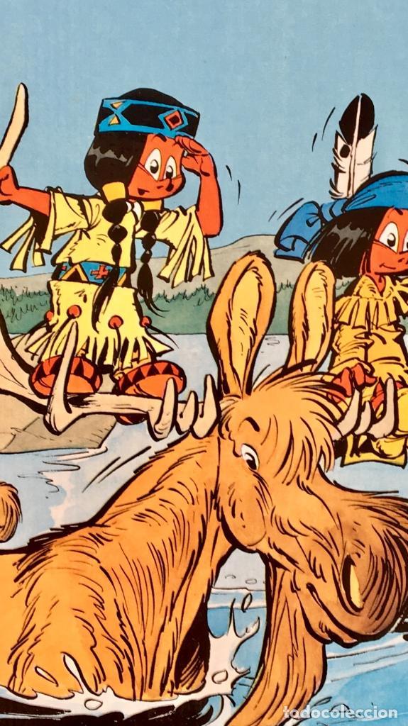 Cómics: Yakari 1988 primera edición atrapados en la isla bien estado tapa dura - Foto 16 - 99278363