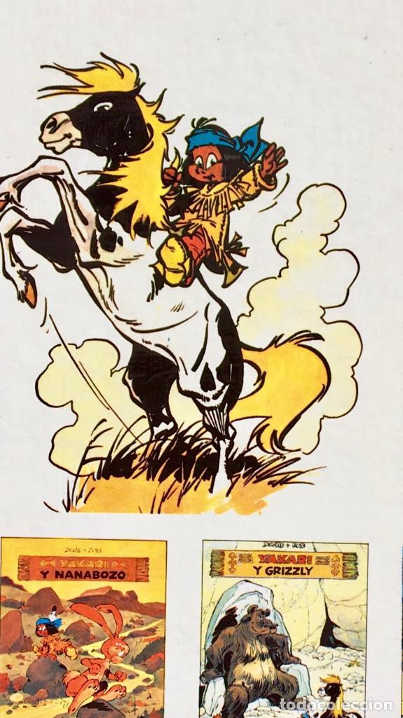 Cómics: Yakari 1988 primera edición atrapados en la isla bien estado tapa dura - Foto 17 - 99278363