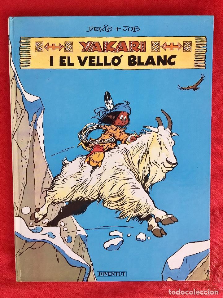 YAKARI I PRIMERA EDICIÓN EN CATALÁN CATALA I EL VELLO BLANC 1990 JOVENTUT (Tebeos y Comics - Juventud - Yakary)