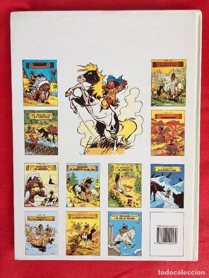 Cómics: Yakari I primera edición en catalán catala I el vello blanc 1990 joventut - Foto 2 - 183655957