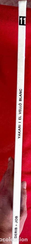 Cómics: Yakari I primera edición en catalán catala I el vello blanc 1990 joventut - Foto 3 - 183655957