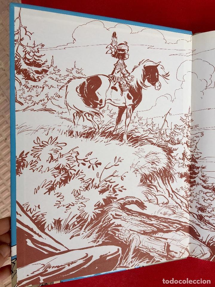 Cómics: Yakari I primera edición en catalán catala I el vello blanc 1990 joventut - Foto 4 - 183655957