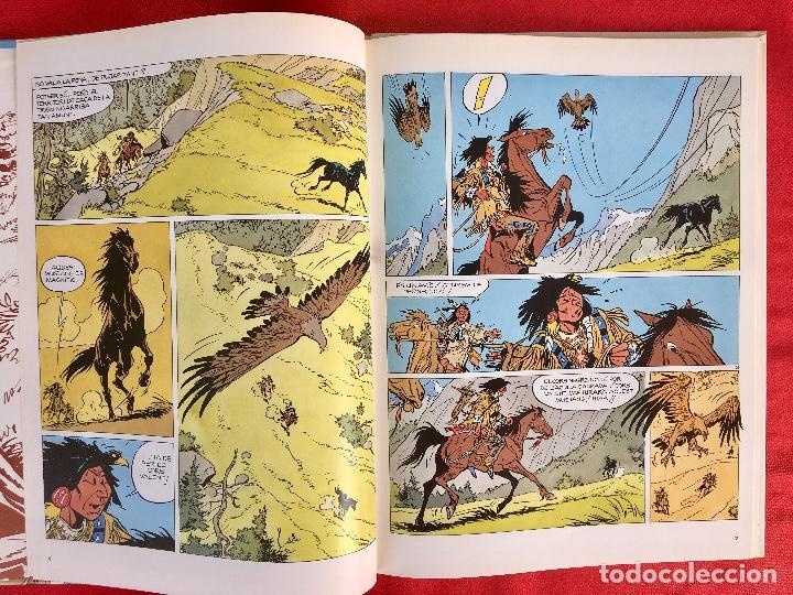 Cómics: Yakari I primera edición en catalán catala I el vello blanc 1990 joventut - Foto 8 - 183655957