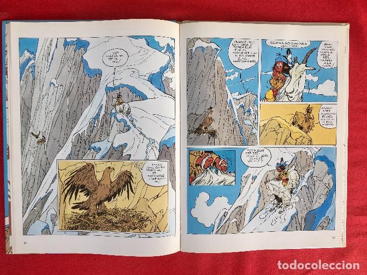 Cómics: Yakari I primera edición en catalán catala I el vello blanc 1990 joventut - Foto 9 - 183655957