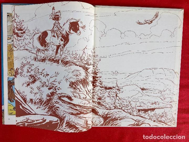 Cómics: Yakari I primera edición en catalán catala I el vello blanc 1990 joventut - Foto 12 - 183655957