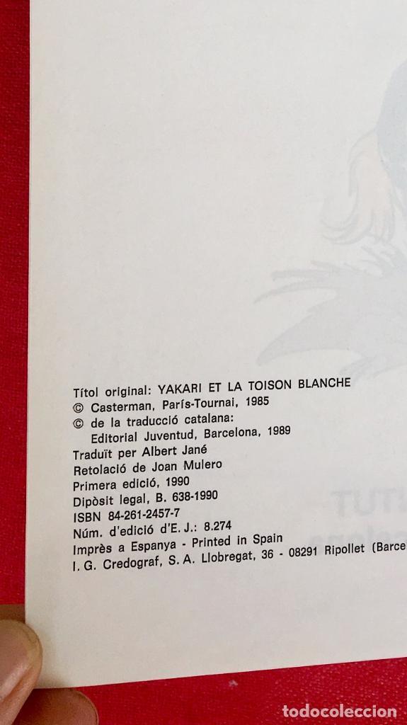 Cómics: Yakari I primera edición en catalán catala I el vello blanc 1990 joventut - Foto 15 - 183655957
