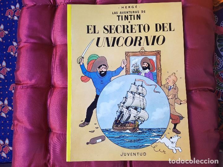 EL SECRETO DEL UNICORNIO TINTIN (Tebeos y Comics - Juventud - Tintín)