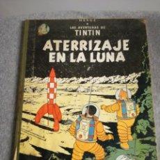 Cómics: COMIC DE TINTIN. ATERRIZAJE EN LA LUNA.LOMO DE TELA. Lote 99888604