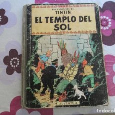 Cómics: TINTIN EL TEMPLO DEL SOL SEGUNDA EDICION 1961. Lote 100138699