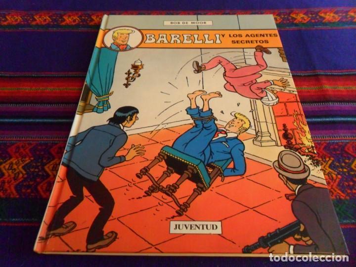 BARELLI Nº 5 Y LOS AGENTES SECRETOS. JUVENTUD 1992. MUY BUEN ESTADO. (Tebeos y Comics - Juventud - Barelli)