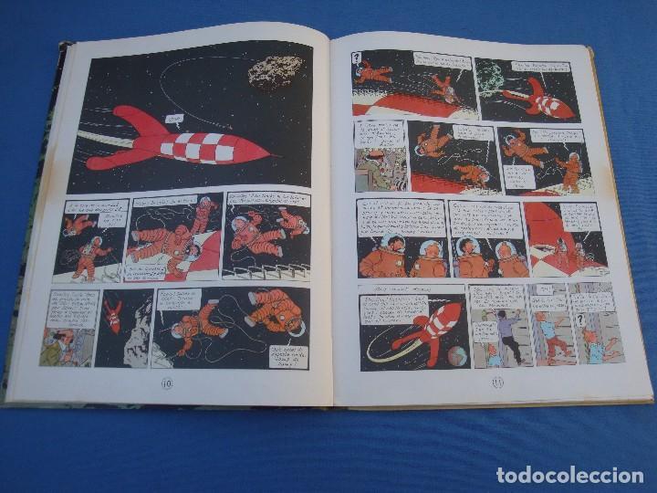 Cómics: TINTIN - HEM CAMINAT DAMUNT LA LLUNA - EN CATALÀ- 1ª EDICIÓ 1968 - Foto 3 - 100241063
