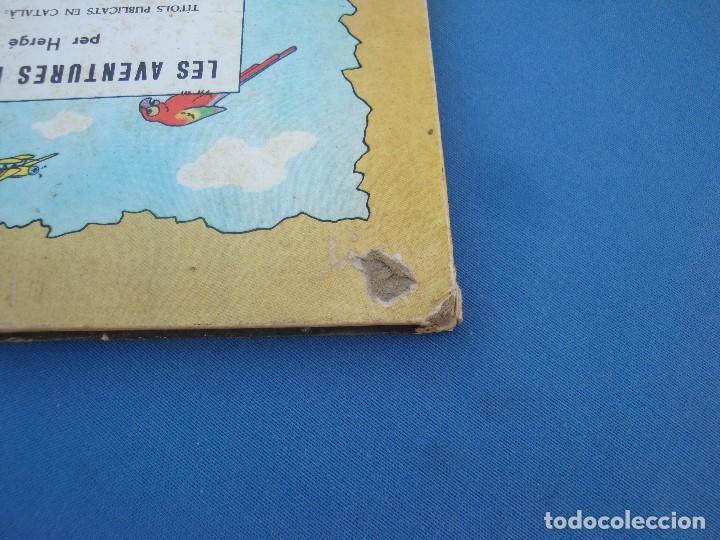 Cómics: TINTIN - HEM CAMINAT DAMUNT LA LLUNA - EN CATALÀ- 1ª EDICIÓ 1968 - Foto 6 - 100241063