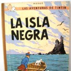 Cómics: TINTIN - LA ISLA NEGRA - 1969. Lote 100262851
