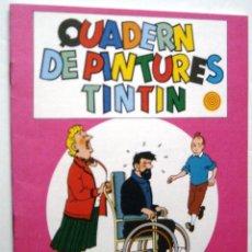 Cómics: CUADERN DE PINTURES TINTIN - P 11. Lote 100263167