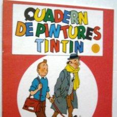 Cómics: CUADERN DE PINTURES TINTIN - P 12. Lote 100263287