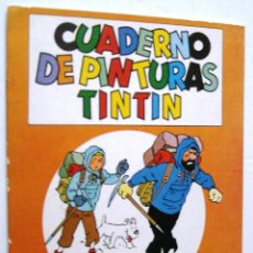 Cómics: CUADERNO DE PINTURAS TINTIN - P 6. Lote 100263415