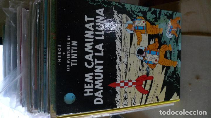 TINTN CATALAN HEM CAMINAT DAMUNT LLUNA 3A ED CATALAN 1979 (Tebeos y Comics - Juventud - Tintín)