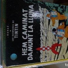 Cómics: TINTN CATALAN HEM CAMINAT DAMUNT LLUNA 3A ED CATALAN 1979. Lote 100284631