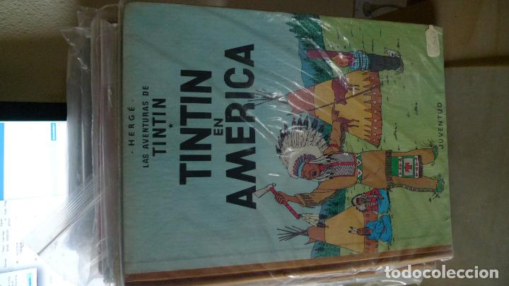 TINTIN EN AMERICA ESPECTACULAR PRIMERA EDICION LOMO TELA (Tebeos y Comics - Juventud - Tintín)