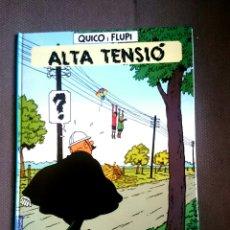 Cómics: QUICO I FLUPI - ALTA TENSIÓ.EDITORIAL JOVENTUT CATALÀ 1A EDICIÓN. Lote 100746646