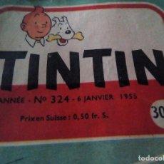Cómics: LE JOURNAL DE TINTIN 7º ANNE 1955.DEVIL CHIEN-LOUP. LES AVENTURES DU CHAVALIER DE LAGARDERE, CASTERM. Lote 101155779
