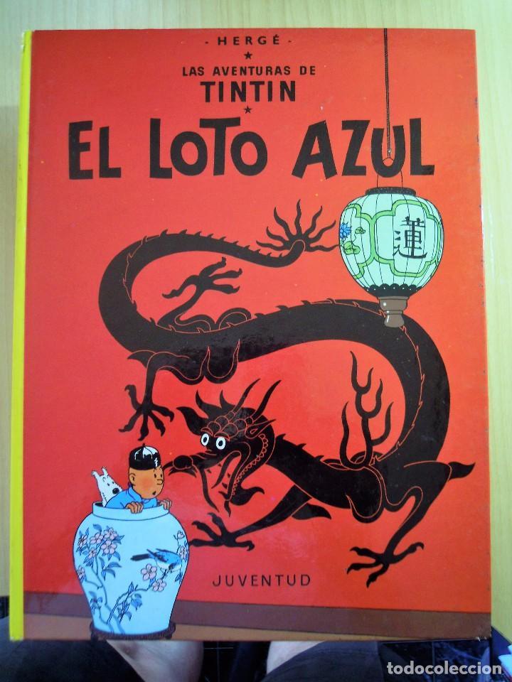 TINTIN. EL LOTO AZUL. HERGÉ (Tebeos y Comics - Juventud - Tintín)