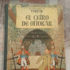 Cómics - Las aventuras de Tintín - El cetro de Ottokar - Hergé - 1ª edición 1958 - 101709139