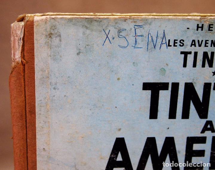 Cómics: TEBEO O COMIC, TINTIN A AMERICA, JUVENTUD, 1968, PRIMERA EDICION, EN CATALAN, CATALA - Foto 2 - 102138039