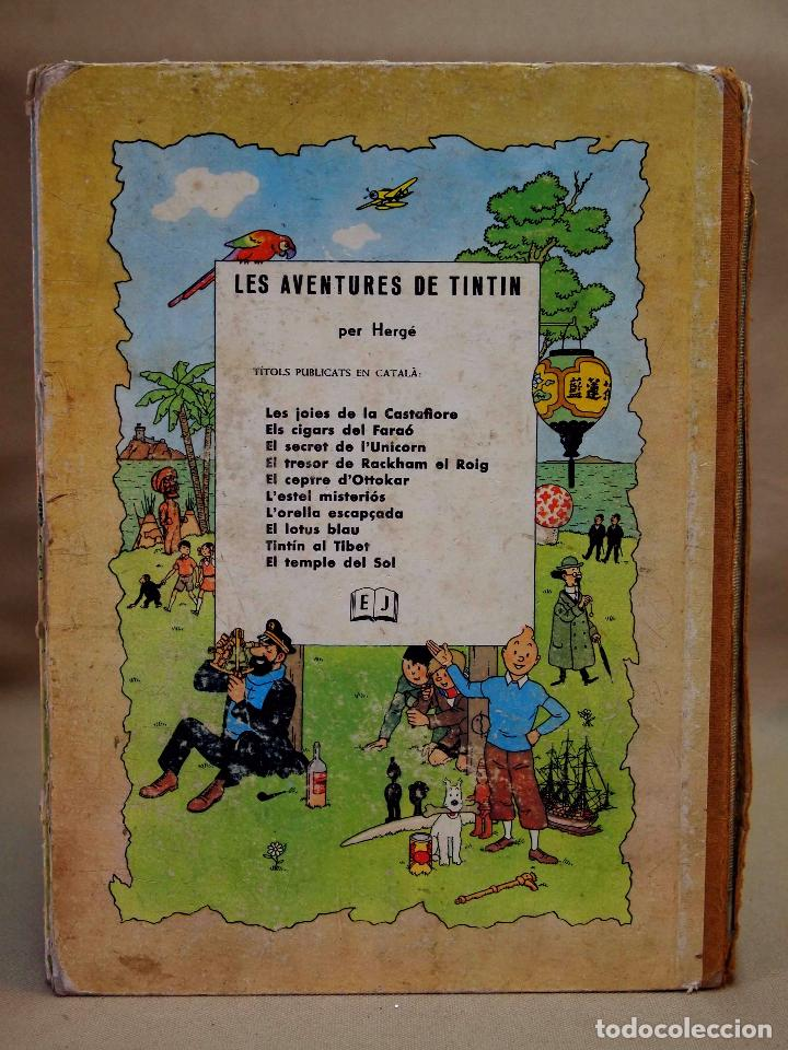 Cómics: TEBEO O COMIC, TINTIN A AMERICA, JUVENTUD, 1968, PRIMERA EDICION, EN CATALAN, CATALA - Foto 9 - 102138039