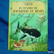 Cómics: TINTIN - EL TESORO DE RACKHAM EL ROJO . ED. JUVENTUD 1989 . Lote 102272219