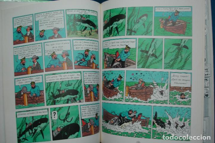 Cómics: TINTIN - EL TESORO DE RACKHAM EL ROJO . ED. JUVENTUD 1989 - Foto 3 - 102272219