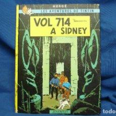 Cómics: TINTIN - VOL 714 A SIDNEY - ED. JOVENTUT SEXTA EDICIÓ 1983. Lote 102275031