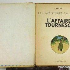 Cómics: 6037- L'AFFAIRE TOURNESOL. HERGE. EDIT. CASTERMAN. 1956.. Lote 39368420