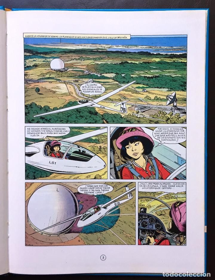 Cómics: MENSAJE PARA LA ETERNIDAD - Yoko Tsuno - Roger Leloup Nº 5 Ed Juventud 1ª Primera Edición Tapa Dura - Foto 4 - 102455979