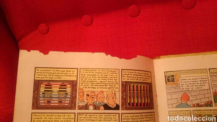 Cómics: TINTIN-LES JOIES DE LA CASTAFIORE-CATALA-REIMPRESIO 1965 - Foto 8 - 102506716