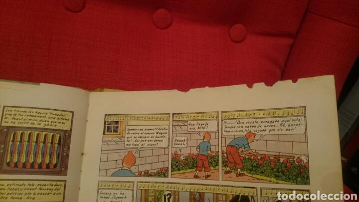 Cómics: TINTIN-LES JOIES DE LA CASTAFIORE-CATALA-REIMPRESIO 1965 - Foto 9 - 102506716