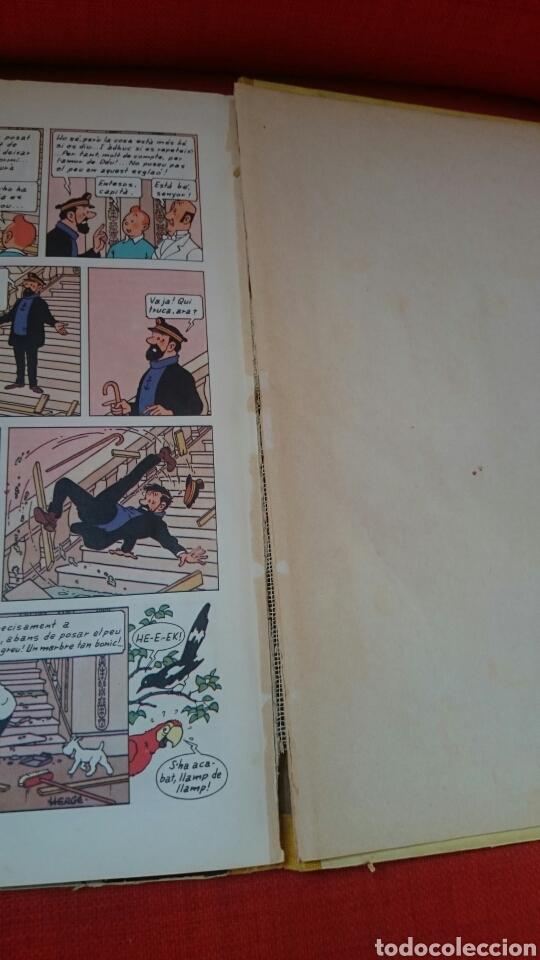 Cómics: TINTIN-LES JOIES DE LA CASTAFIORE-CATALA-REIMPRESIO 1965 - Foto 16 - 102506716