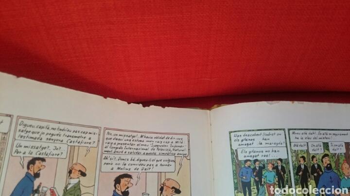 Cómics: TINTIN-LES JOIES DE LA CASTAFIORE-CATALA-REIMPRESIO 1965 - Foto 17 - 102506716