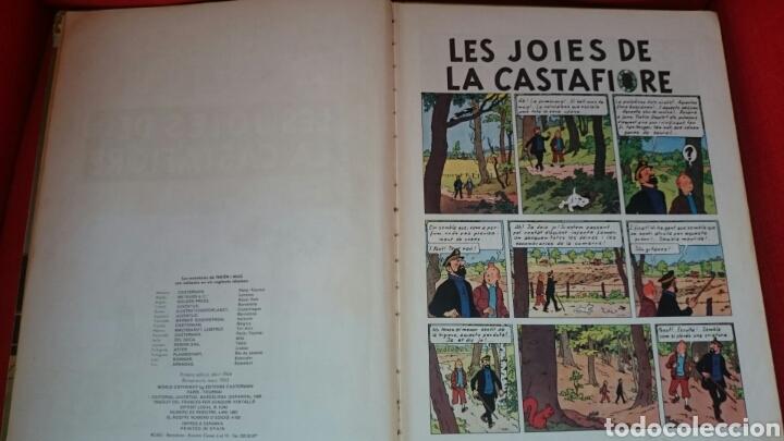 Cómics: TINTIN-LES JOIES DE LA CASTAFIORE-CATALA-REIMPRESIO 1965 - Foto 18 - 102506716
