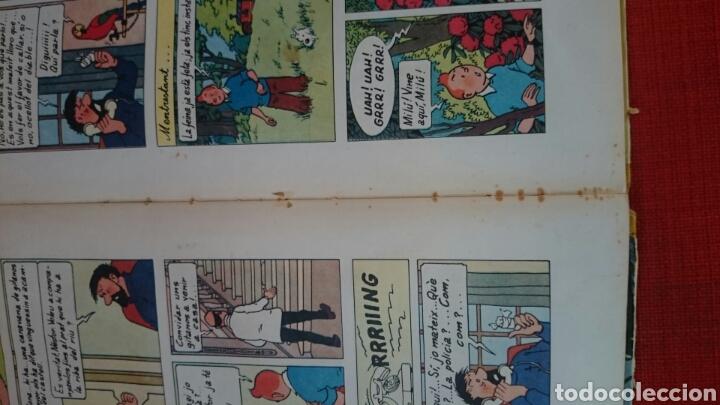 Cómics: TINTIN-LES JOIES DE LA CASTAFIORE-CATALA-REIMPRESIO 1965 - Foto 20 - 102506716