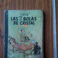Cómics: TINTIN. LAS 7 BOLAS DE CRISTAL. 3 A EDICIÓN. 1969.. Lote 102659356