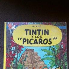 Cómics: TINTÍN - JUVENTUD - LOS PÍCAROS - 2ª SEGUNDA EDICIÓN - 1980 - RÚSTICA. Lote 102725895