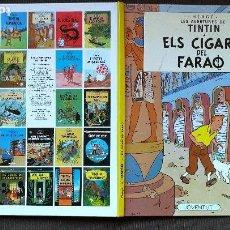 Cómics: TINTÍN - JUVENTUD - ELS CIGARS DEL FARAO - CIGARROS FARAÓN - 1996 - PERFECTO - EN CATALÁN - JOVENTUT. Lote 102727143