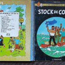 Cómics: TINTÍN - JUVENTUD - STOCK DE COQUE - 3ª TERCERA EDICIÓN 1967 - BUEN ESTADO. Lote 102730411