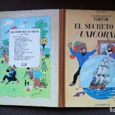 Cómics: TINTÍN - JUVENTUD - EL SECRETO DEL UNICORNIO - 2ª SEGUNDA EDICIÓN 1964 - MARRÓN - BUEN ESTADO - CP. Lote 102747615