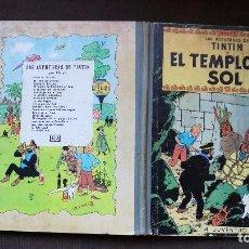 Cómics: TINTÍN - JUVENTUD - EL TEMPLO DEL SOL - 2ª SEGUNDA EDICIÓN 1961 - BUEN ESTADO. Lote 102747847
