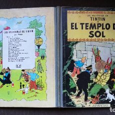 Cómics: TINTÍN - JUVENTUD - EL TEMPLO DEL SOL - 2ª SEGUNDA EDICIÓN 1961 - BUEN ESTADO GENERAL - CP. Lote 102747959