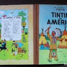 Cómics: TINTÍN - JUVENTUD - EN AMÉRICA - 2ª SEGUNDA EDICIÓN 1969 - MUY BUEN ESTADO - CP. Lote 102748183