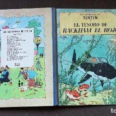Cómics: TINTÍN - JUVENTUD - TESORO RACKHAM EL ROJO - 2ª SEGUNDA EDICIÓN 1964 - BUEN ESTADO - CP. Lote 102748427