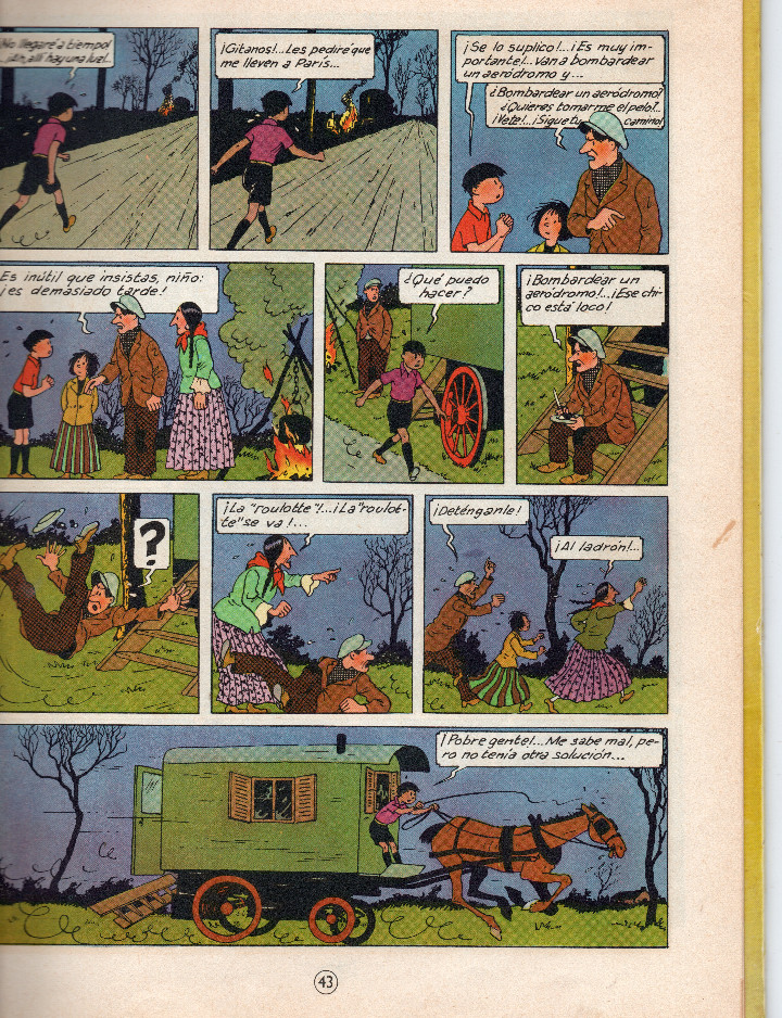 Cómics: Las aventuras de Jo,Zette y Jocko.El testamento de Mr Pump,Hergé primera edición 1970 - Foto 6 - 56673800